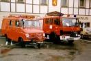 1986 Altes LF 8 Opel Blitz Bj 1962 und aktuelles LF 8 Bj 1986
