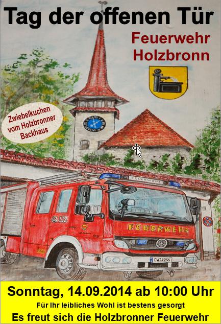 Tag der offenen Tür Abteilung Holzbronn 14.09.2014