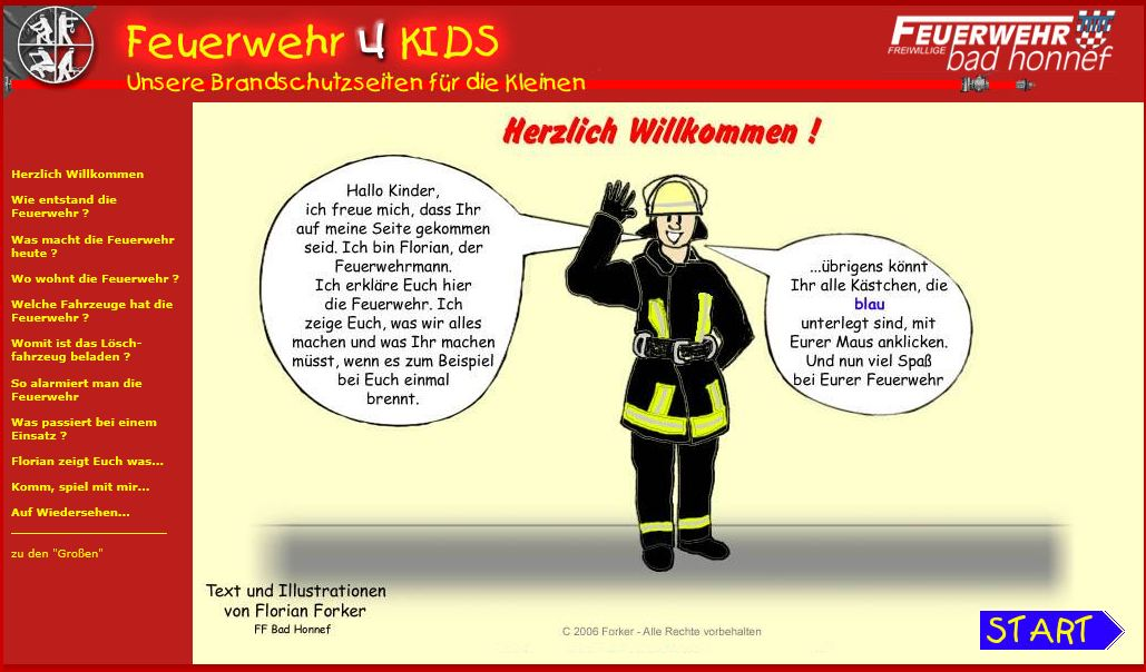 Feuerwehr 4 Kids