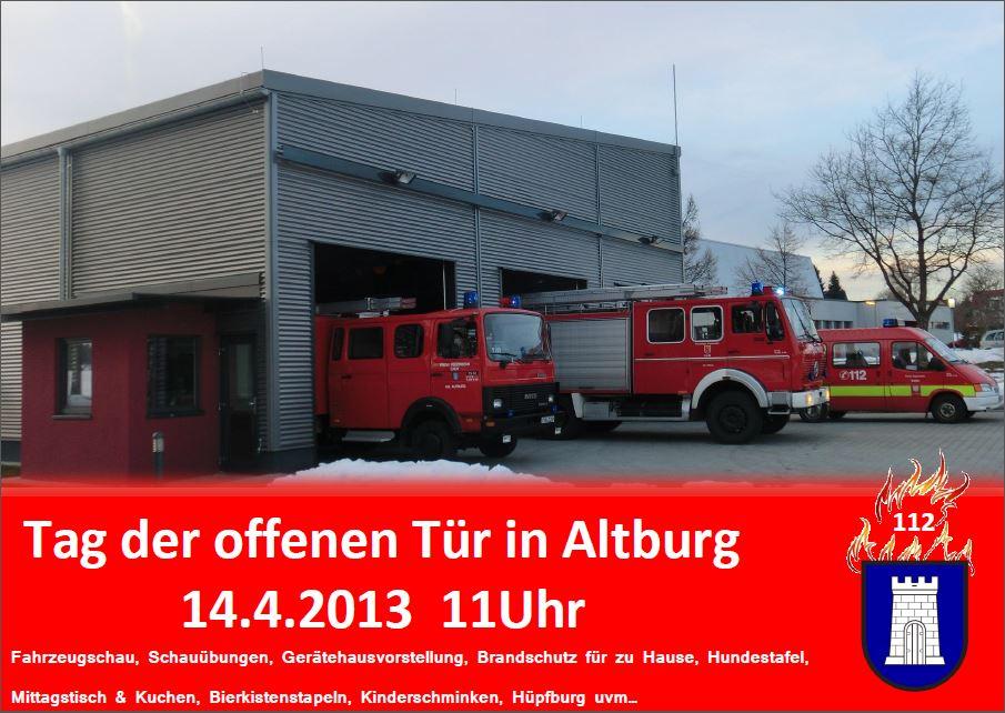 Tag der offenen Tür Abteilung Altburg